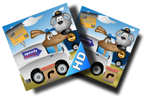 Parcel Dogs Game For iOS logo