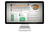 WhereDidMyTaxGo.co.uk Website logo